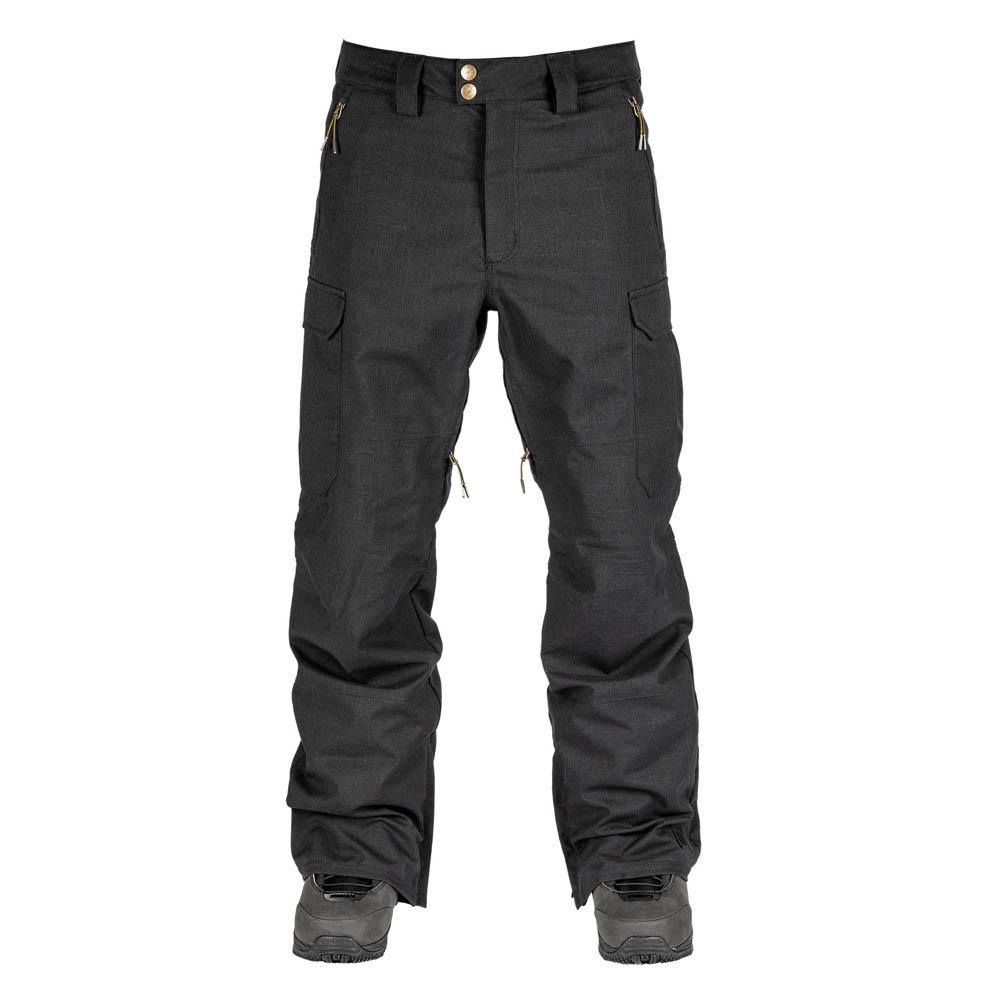 L1 BRIGADE BLACK SNOW PANT