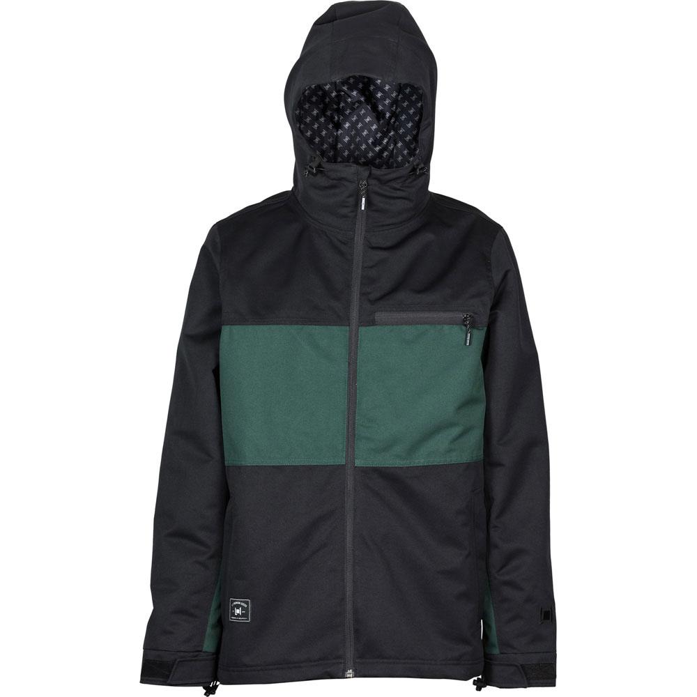 L1 Hasting Black Emerald Ανδρικό Μπουφάν Snowboard