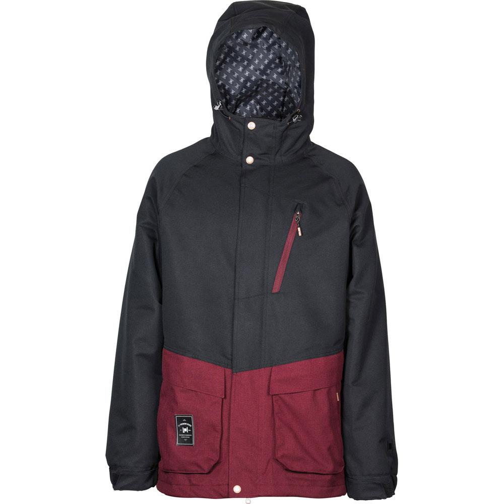 L1 Legacy Black Wine Men's Snow Jacket