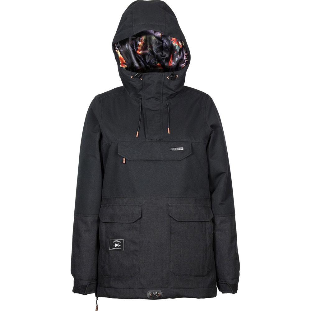 L1 Prowler Black Women's Snow Jacket