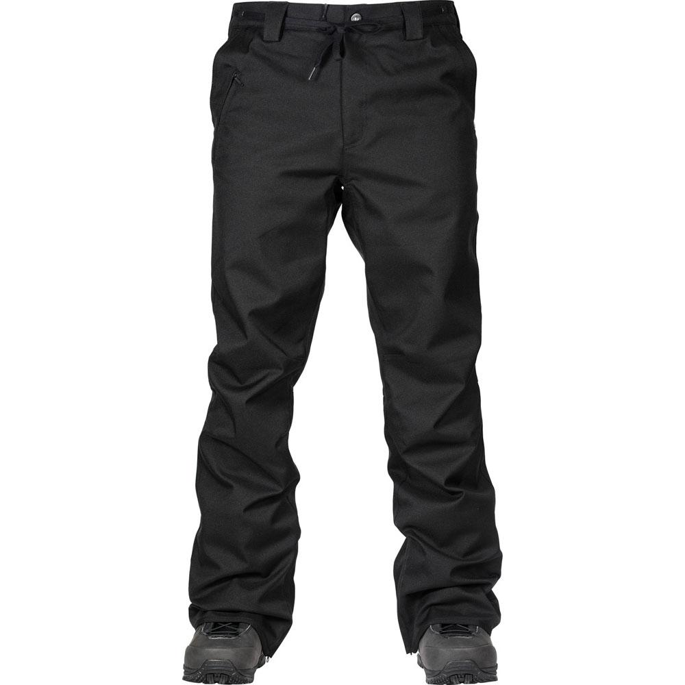L1 Thunder Black Men's Snow Pants