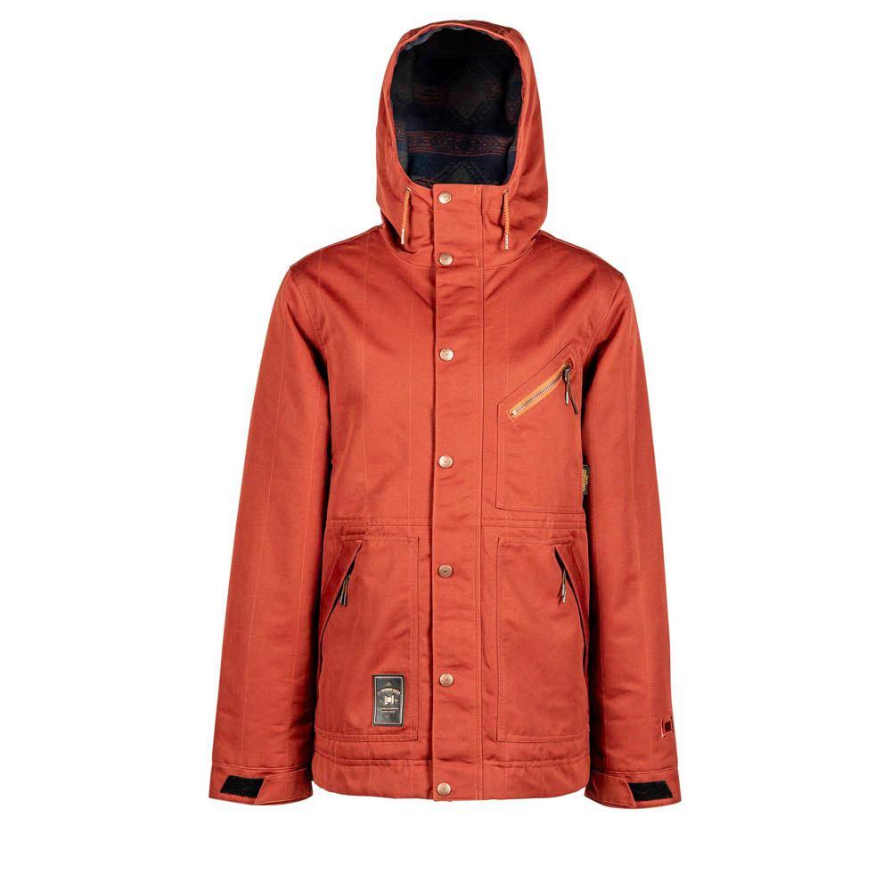 L1 WILCOX RUST SNOW JACKET