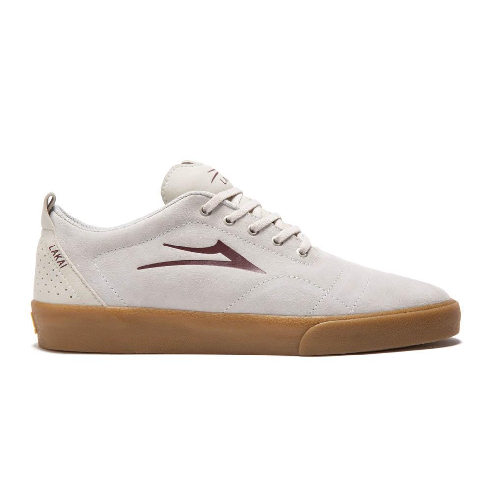 Lakai Bristol White Gum Suede Ανδρικά Παπούτσια