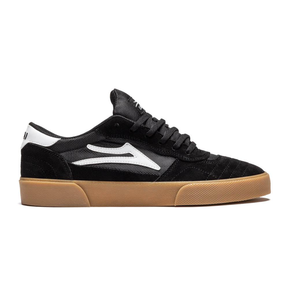 Lakai Cambridge Black Gum Suede Ανδρικά Παπούτσια