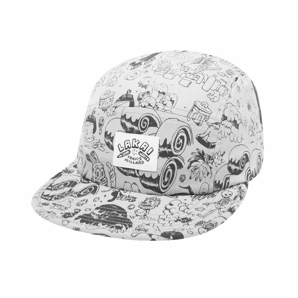 Lakai Squash Oyster Silver Καπέλο