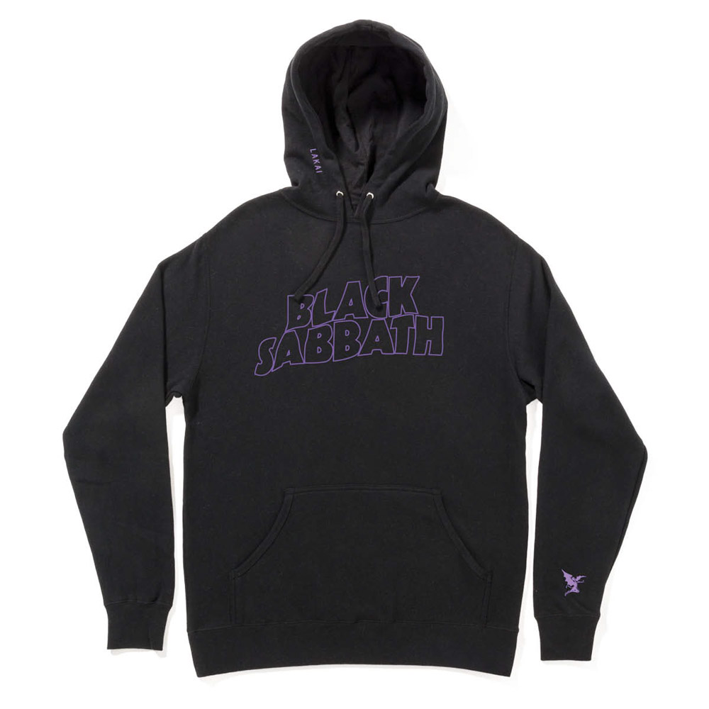 Lakai X Black Sabbath Master Of Reality Black Men's Pullover Hoodie