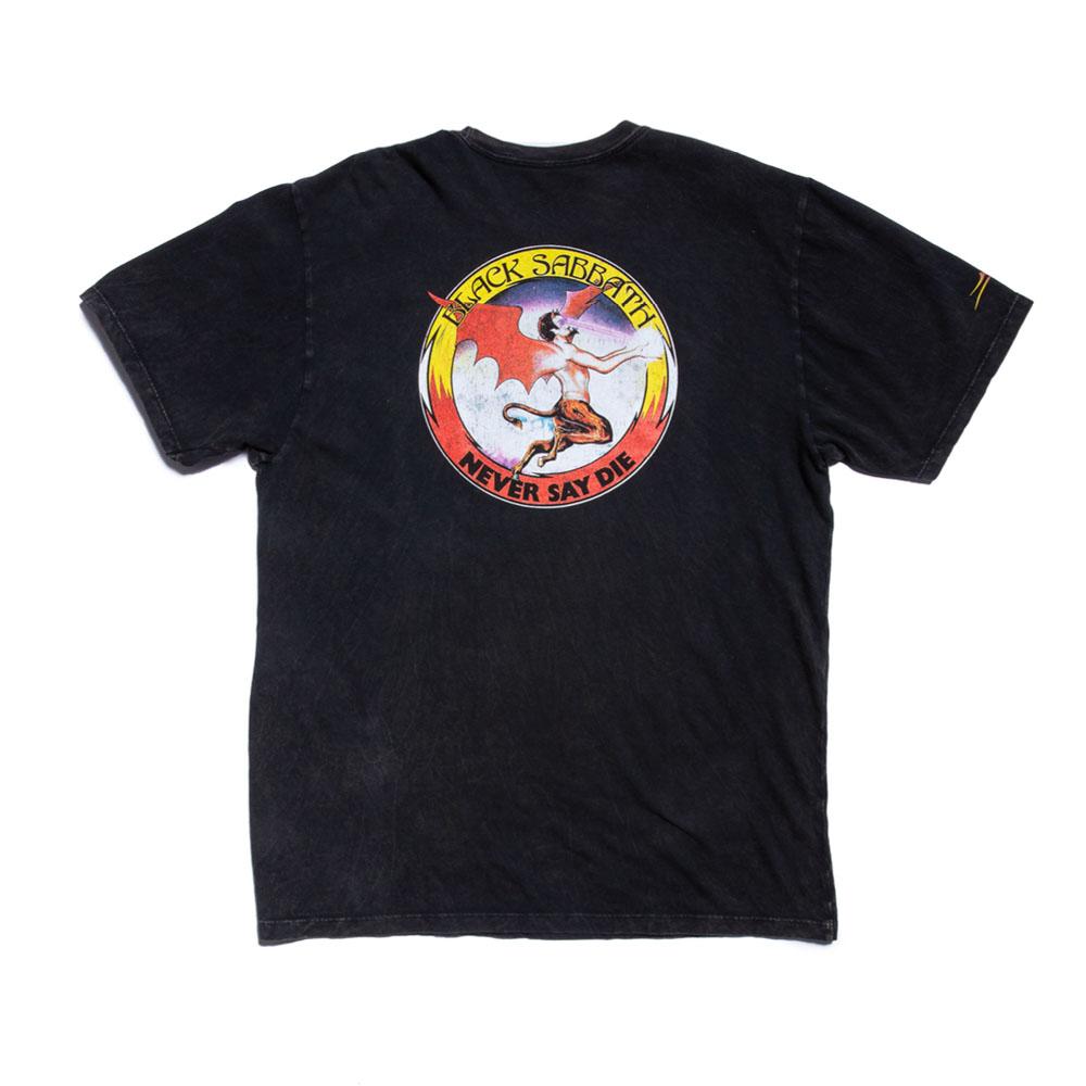 Lakai X Black Sabbath Never Say Die Premium Gunmetal Heather T-Shirt