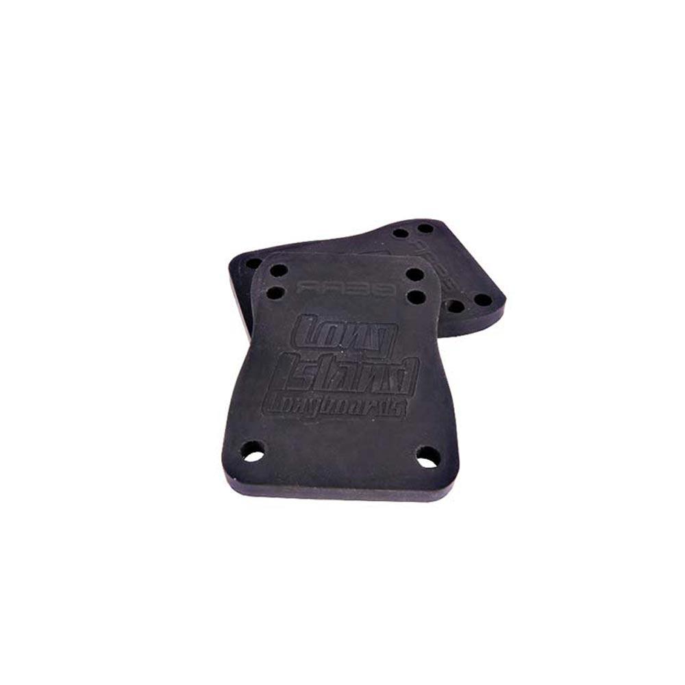 Long Island Riser Pads Black 6mm 70a 74mm X 53mm