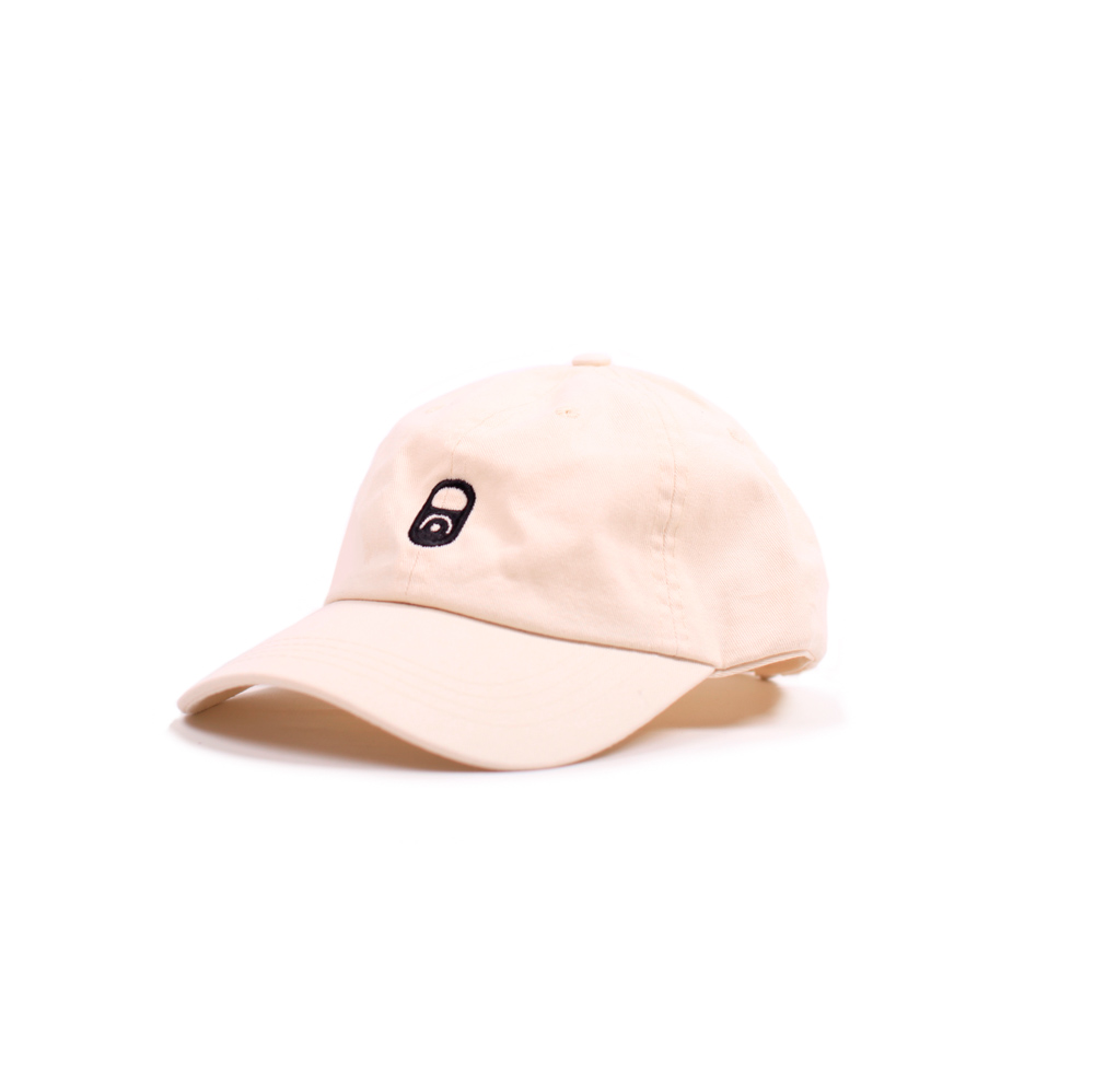 Macba Can Dad Hat White
