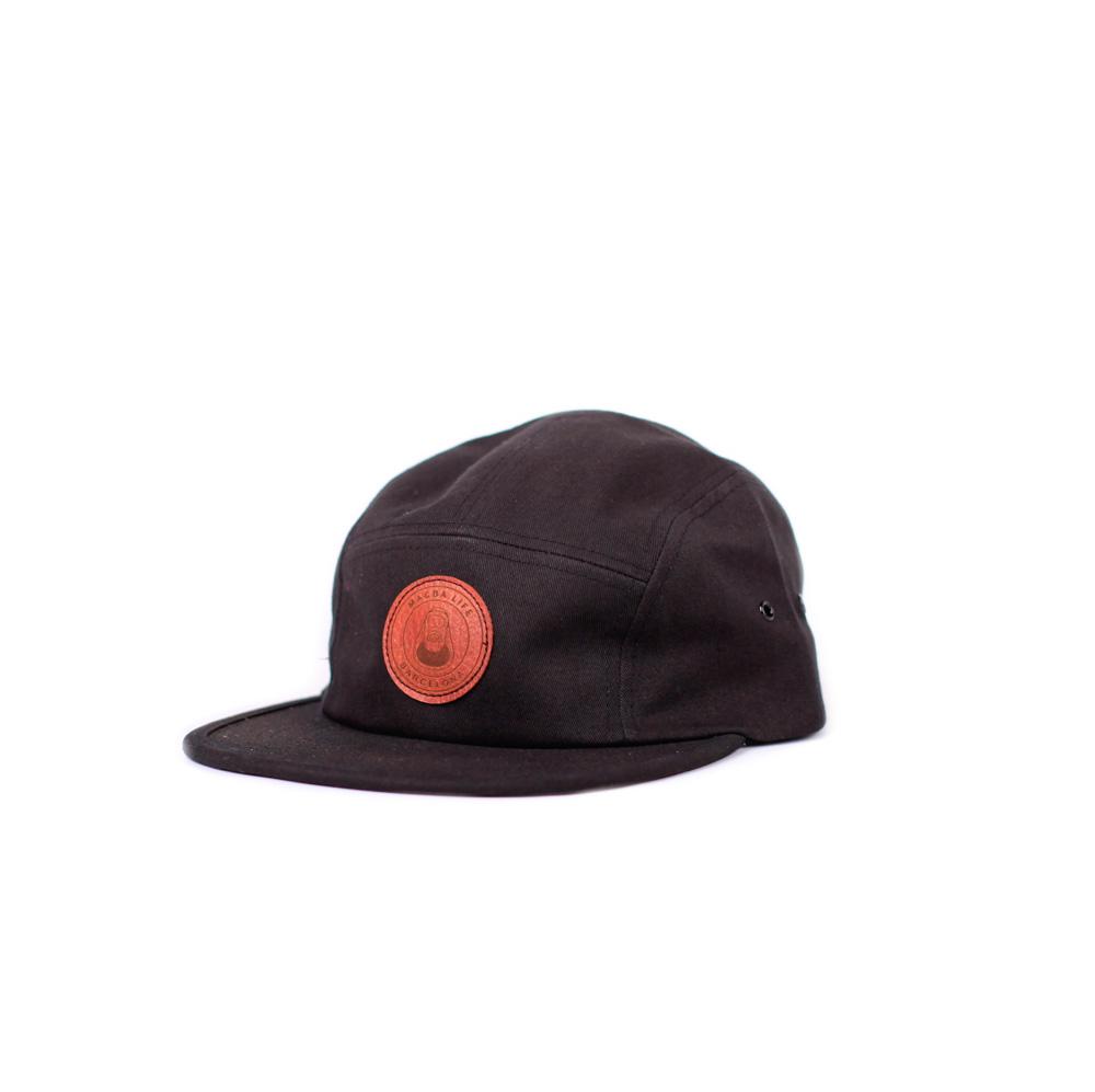 Macba Life OG Logo 5 Panel Hat Black