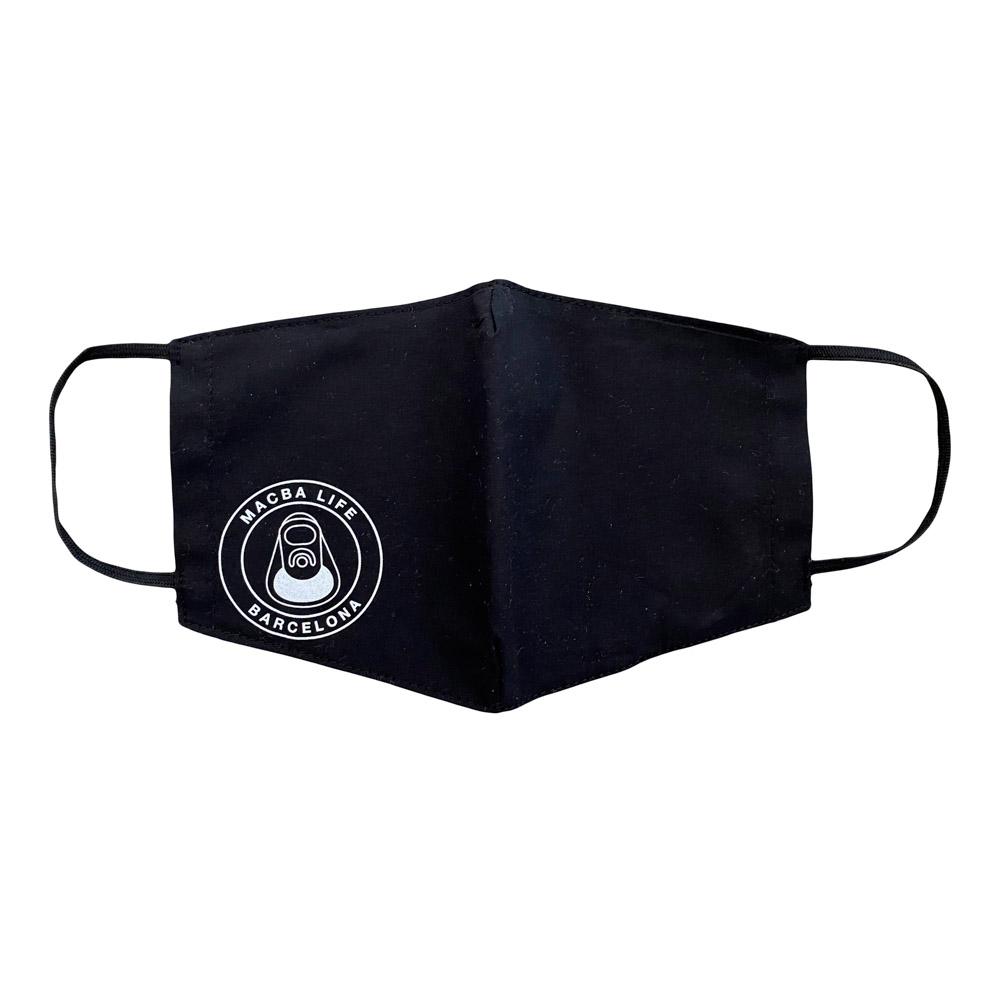 Macba Life OG Logo Black Mask