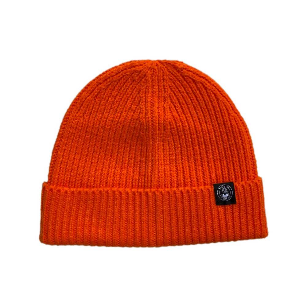 Macba Life OG Logo Orange Beanie