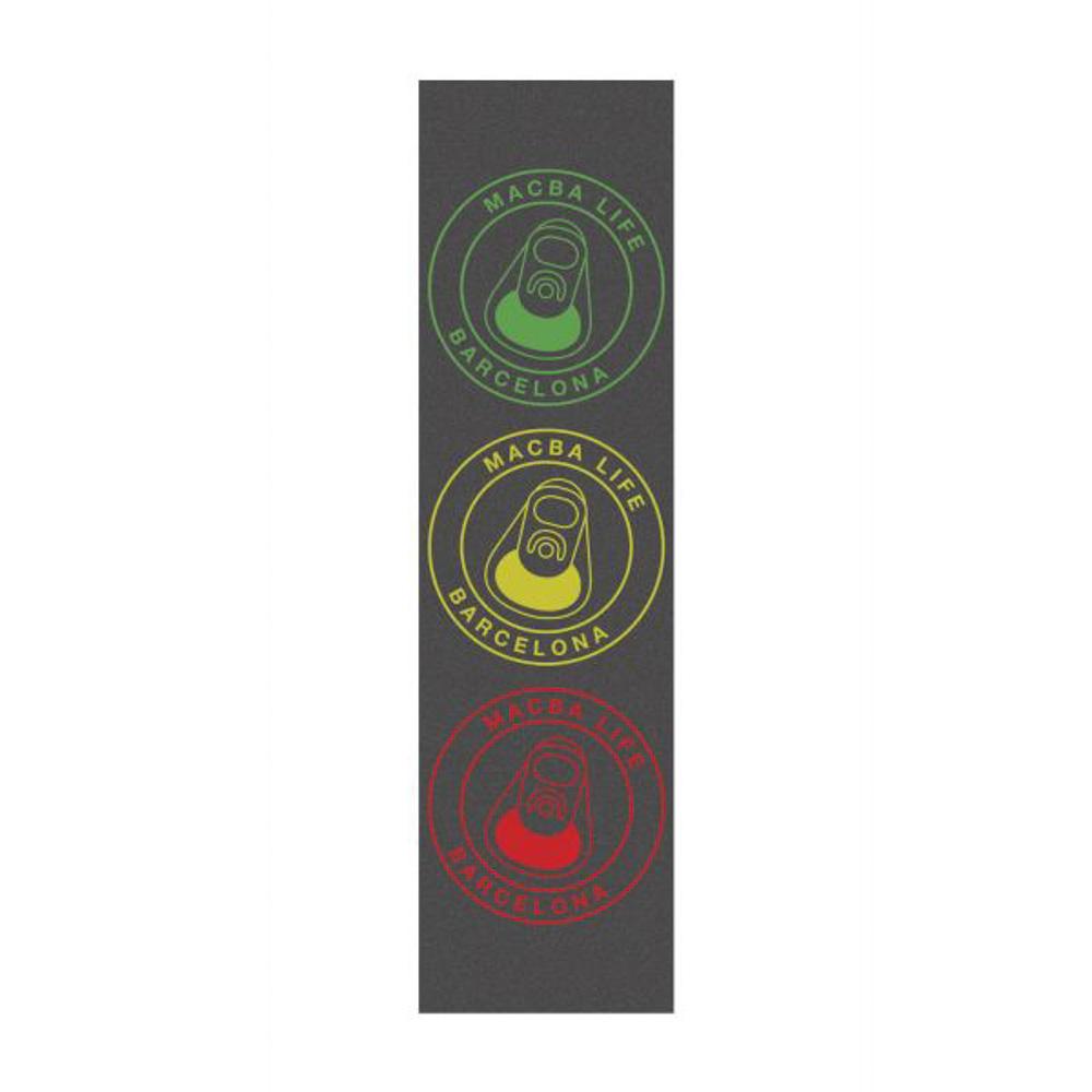 Macba Life Og Logo Rasta 9'' Griptape