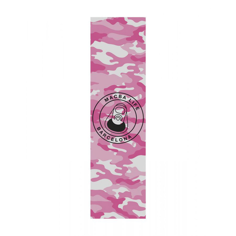 Macba Life Pink Camo 9'' Griptape