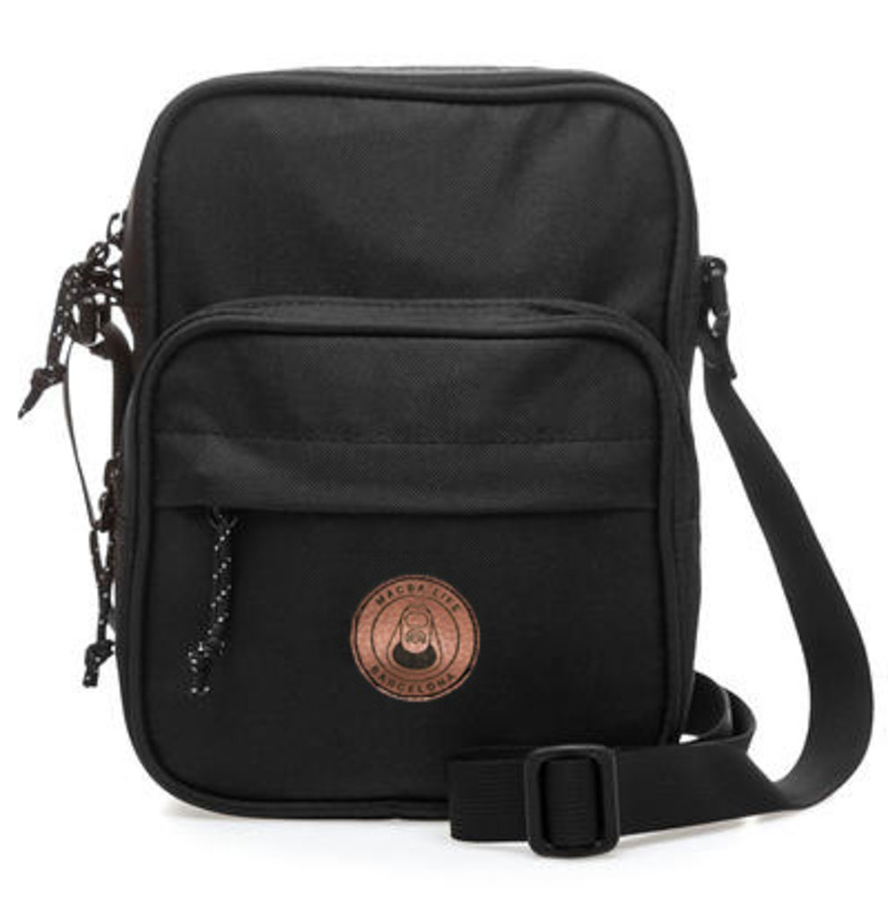 Macba Life Trap Black Shoulder Bag