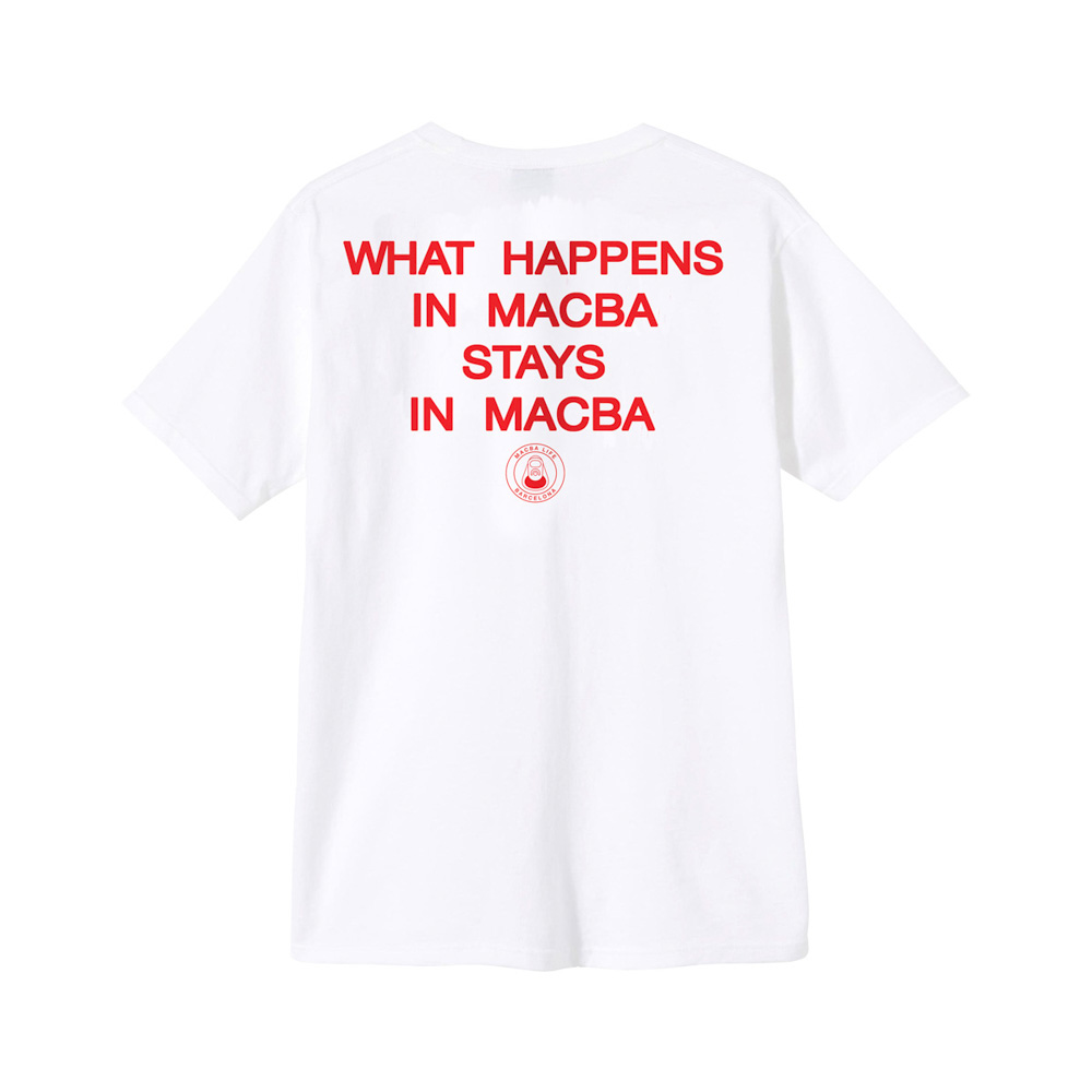 Macba Life Vegas White Men's T-Shirt