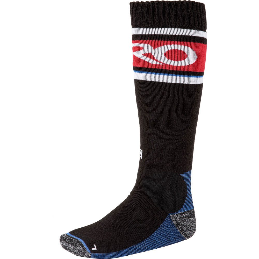 Nitro Anthem Black White Red Blue Snow Socks