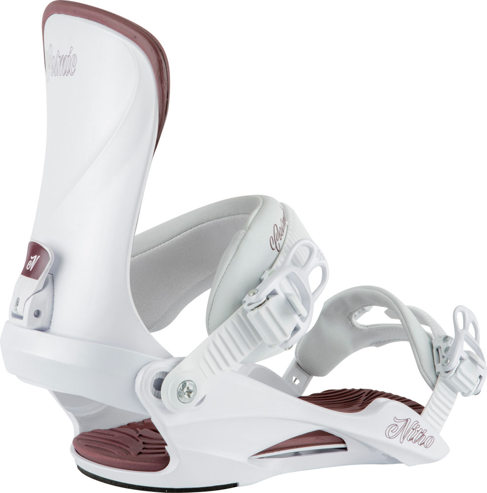 Nitro Cosmic White Pearl Women's Snowboard Bindings
