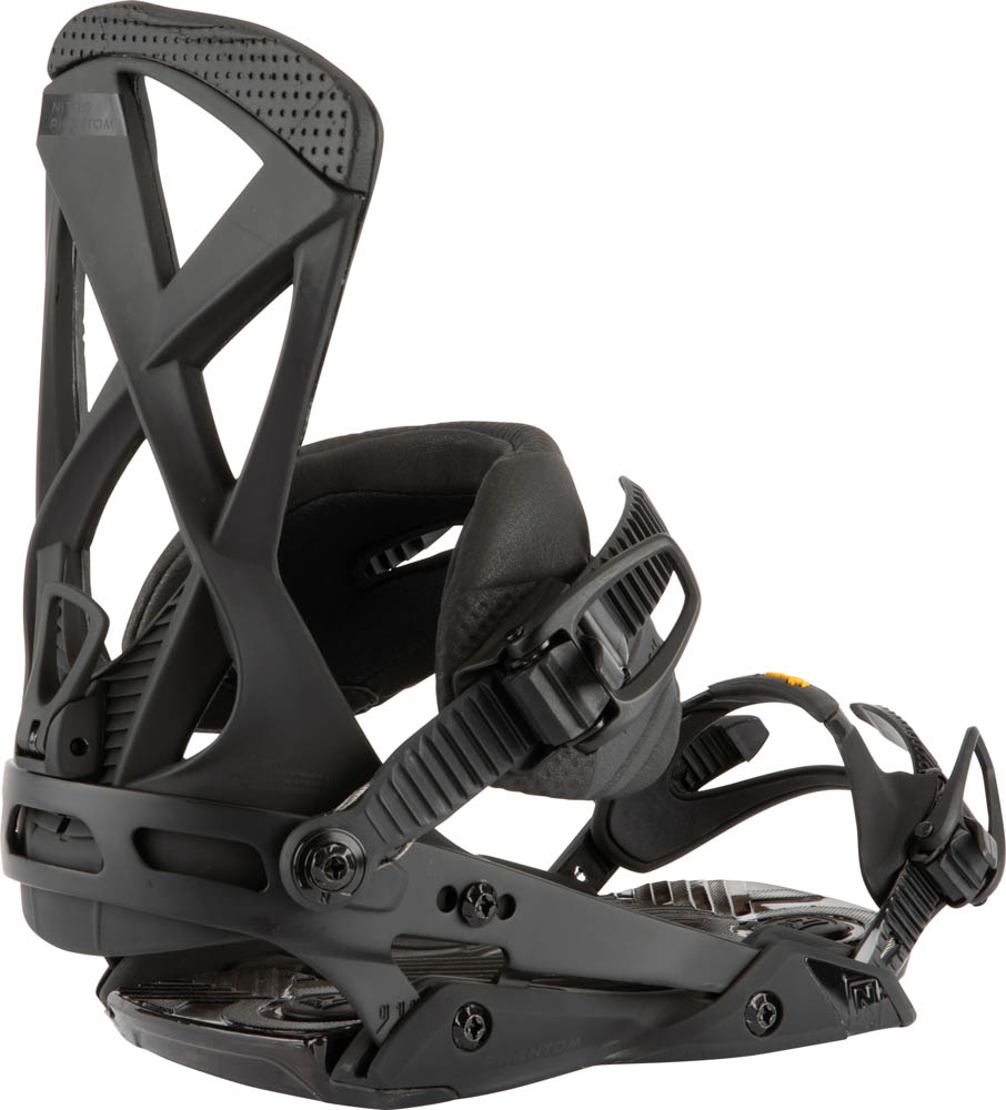 Nitro Phantom Ultra Black Men's Snowboard Bindings