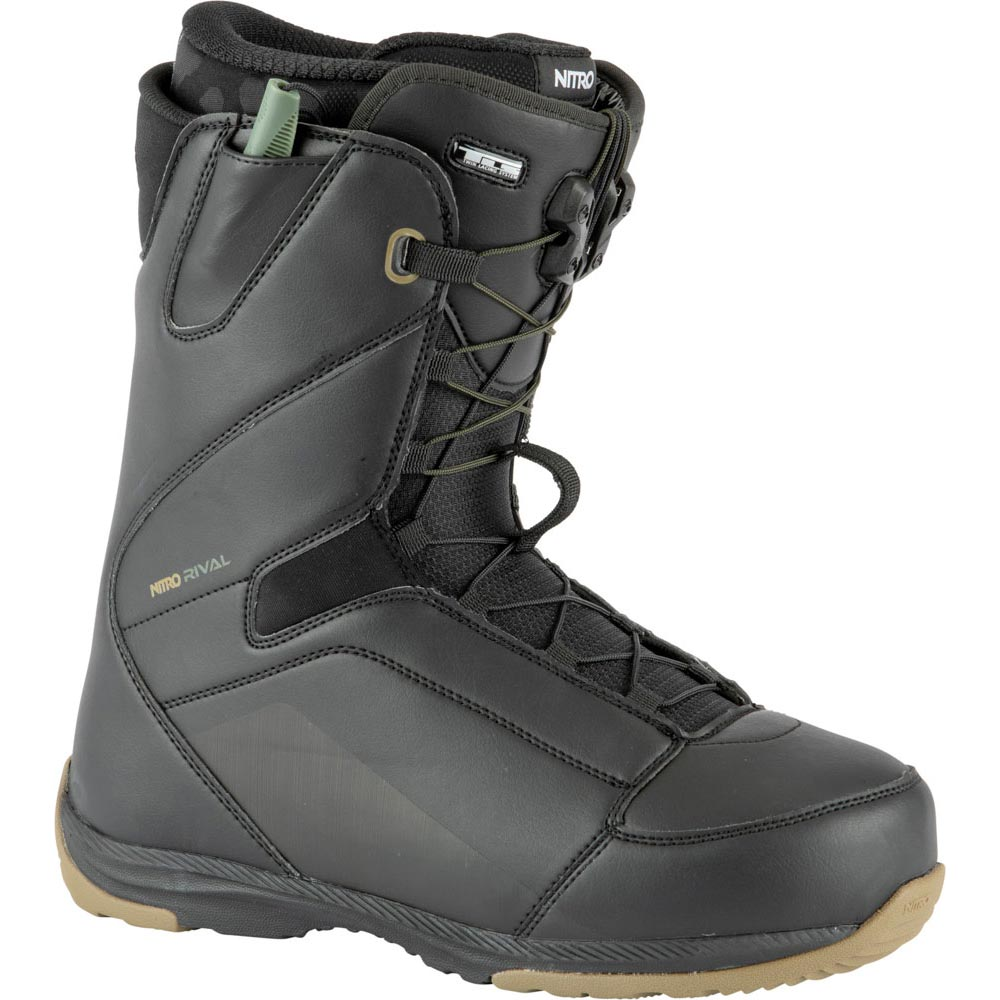 Nitro Rival Tls Black Men's Snowboard Boots