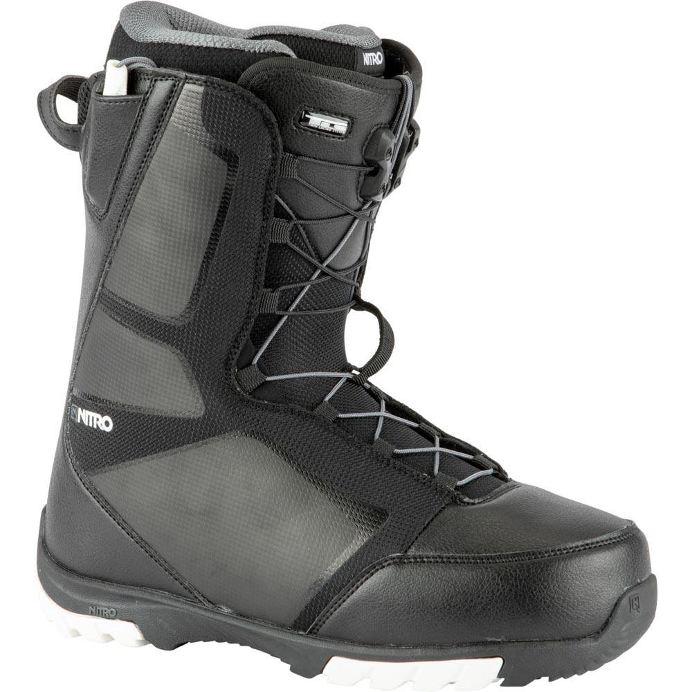 Nitro Sentinel Tls Black White Men's Snowboard Boots