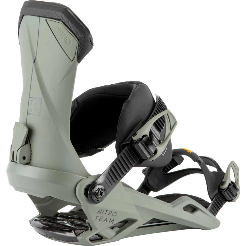 Nitro Team Stone Men's Snowboard Bindings