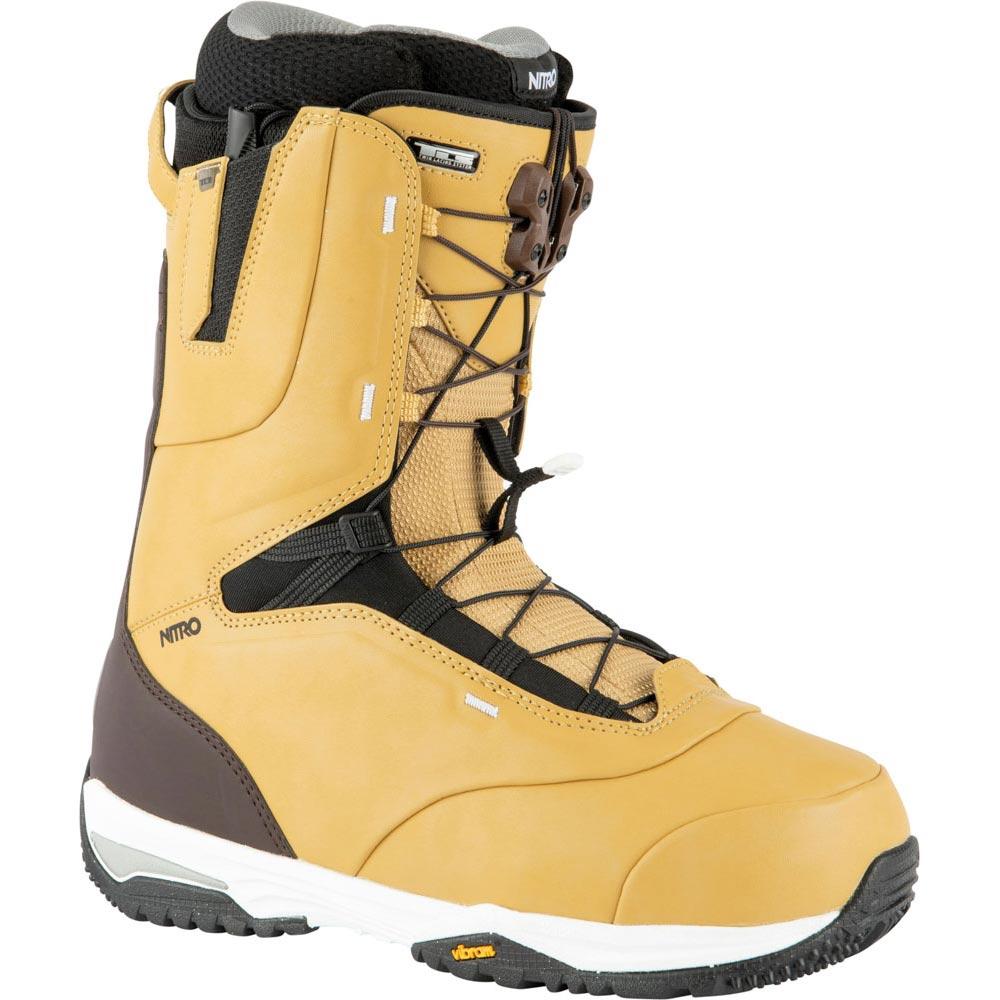 Nitro Venture Pro Tls Tan Black Men's Snowboard Boots