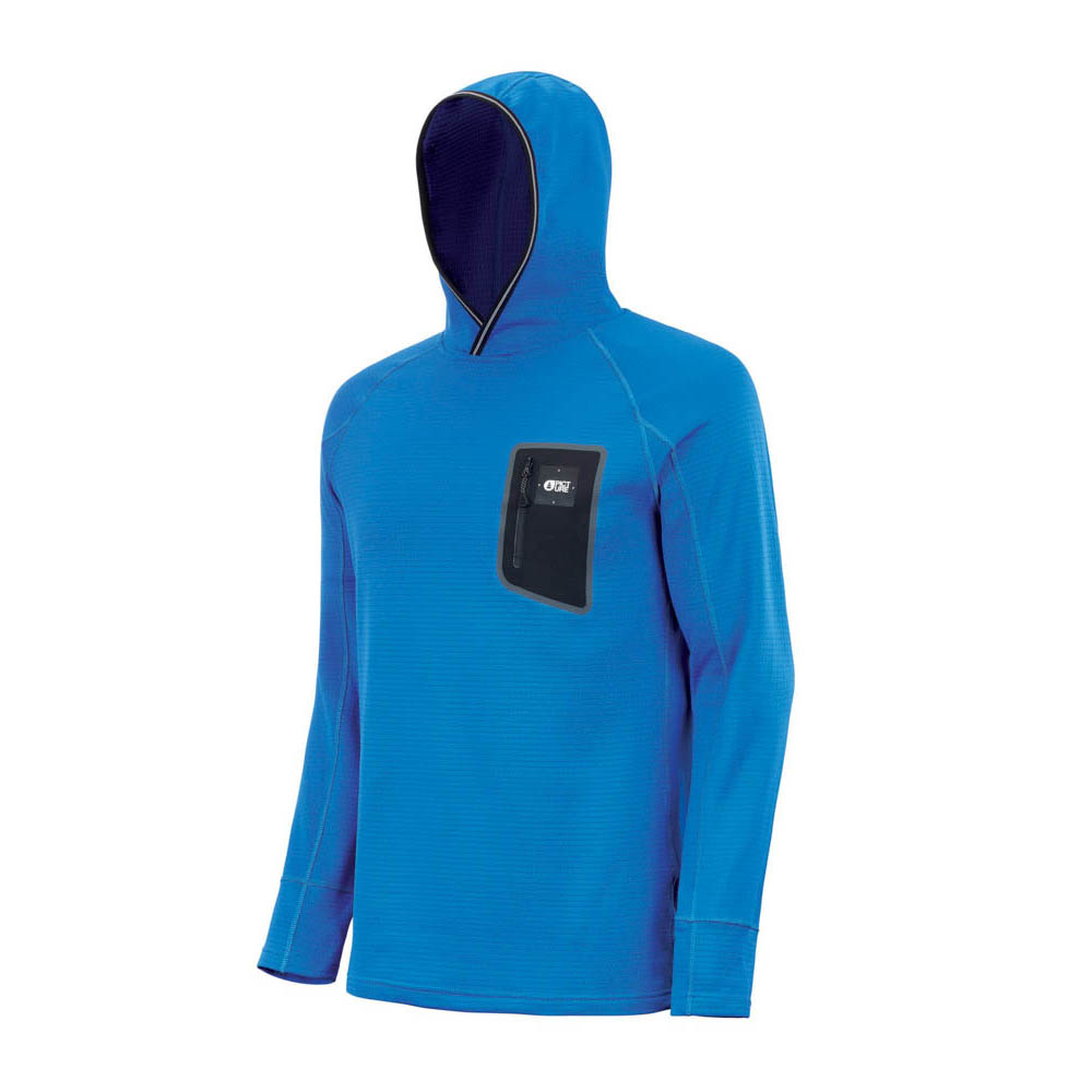 Picture Bake Grid Fleece Picture Blue Αντρικό Midlayer