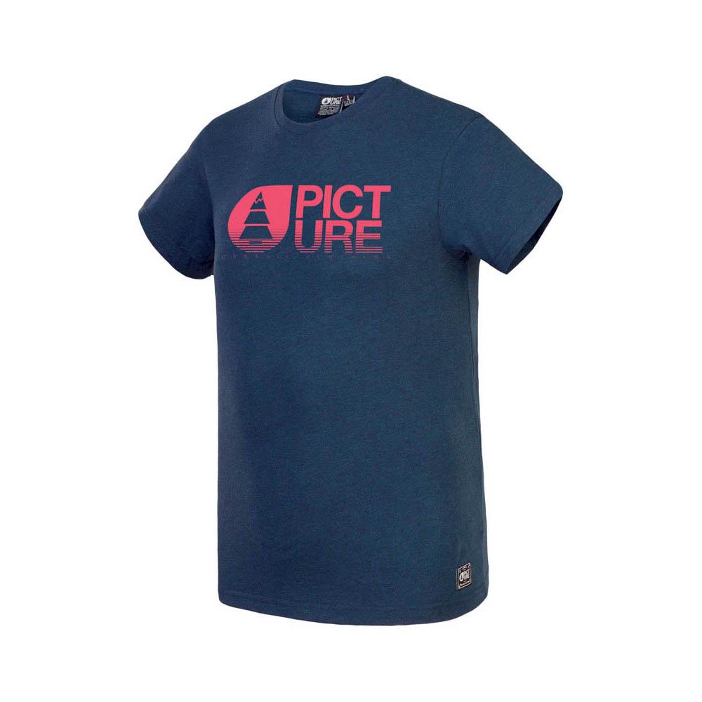 Picture Basement Melange Dark Blue Melange Ανδρικό T-Shirt