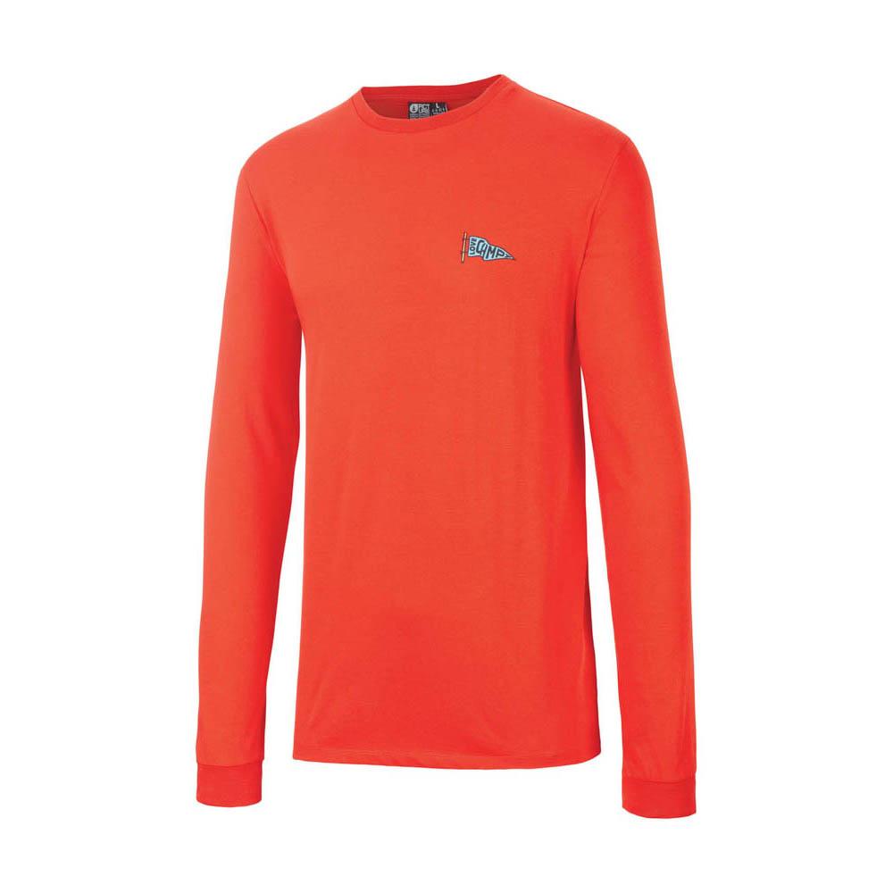 Picture Buckaroo Red Men's Long Sleeve T-Shirt