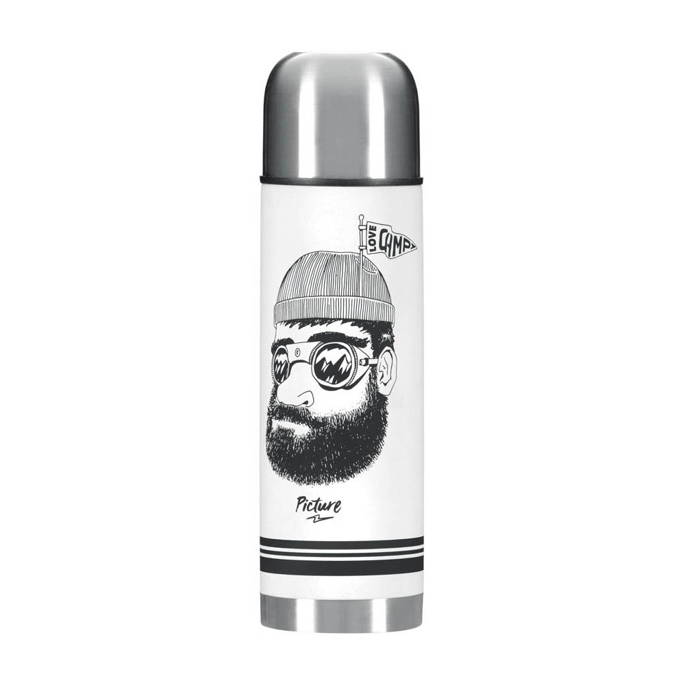 Picture Campei 500ml White Bottle