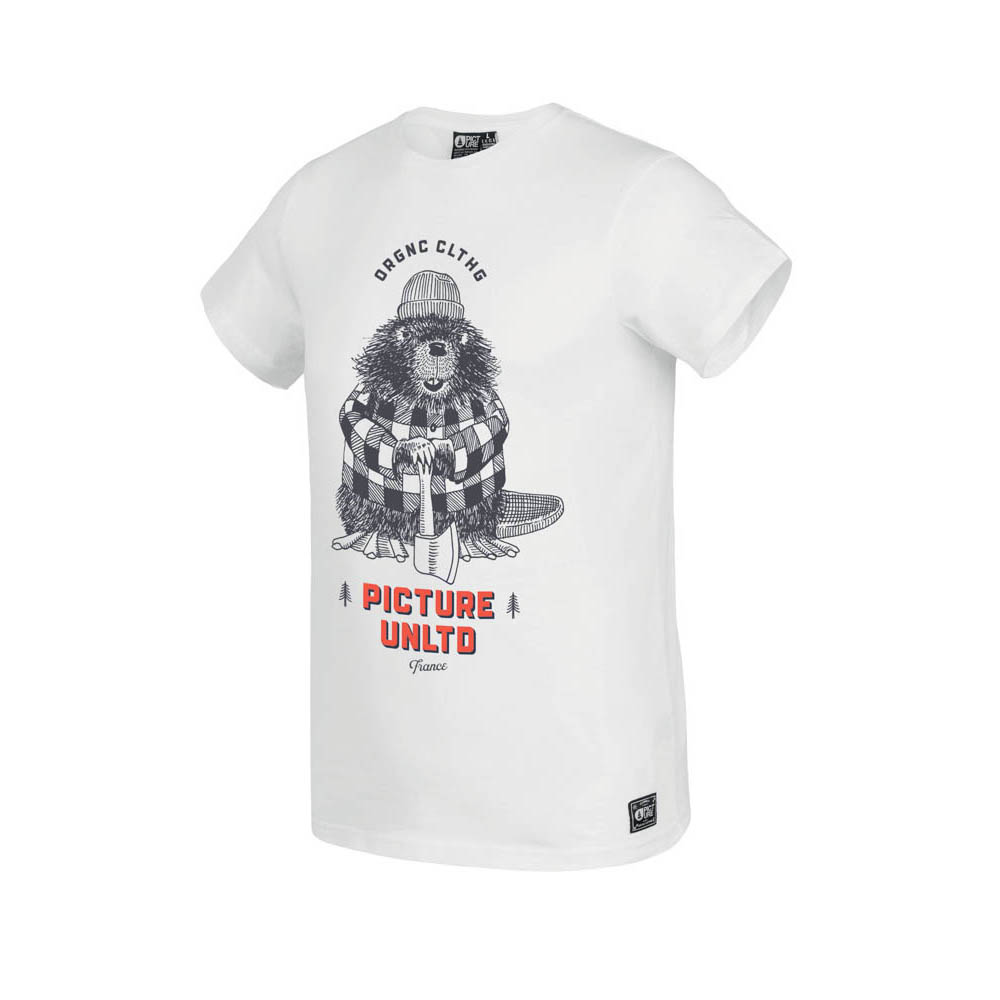 Picture Castory White Ανδρικό T-Shirt
