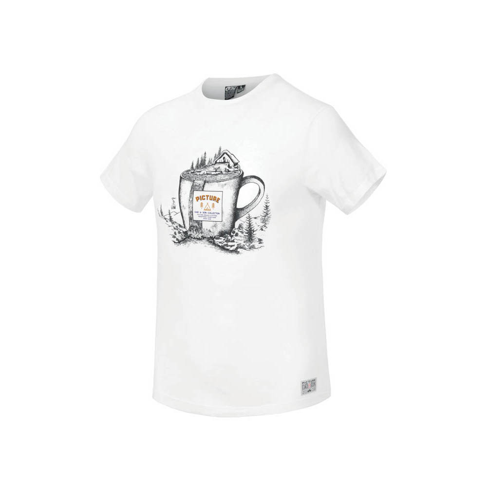 Picture Cup White Ανδρικό T-Shirt