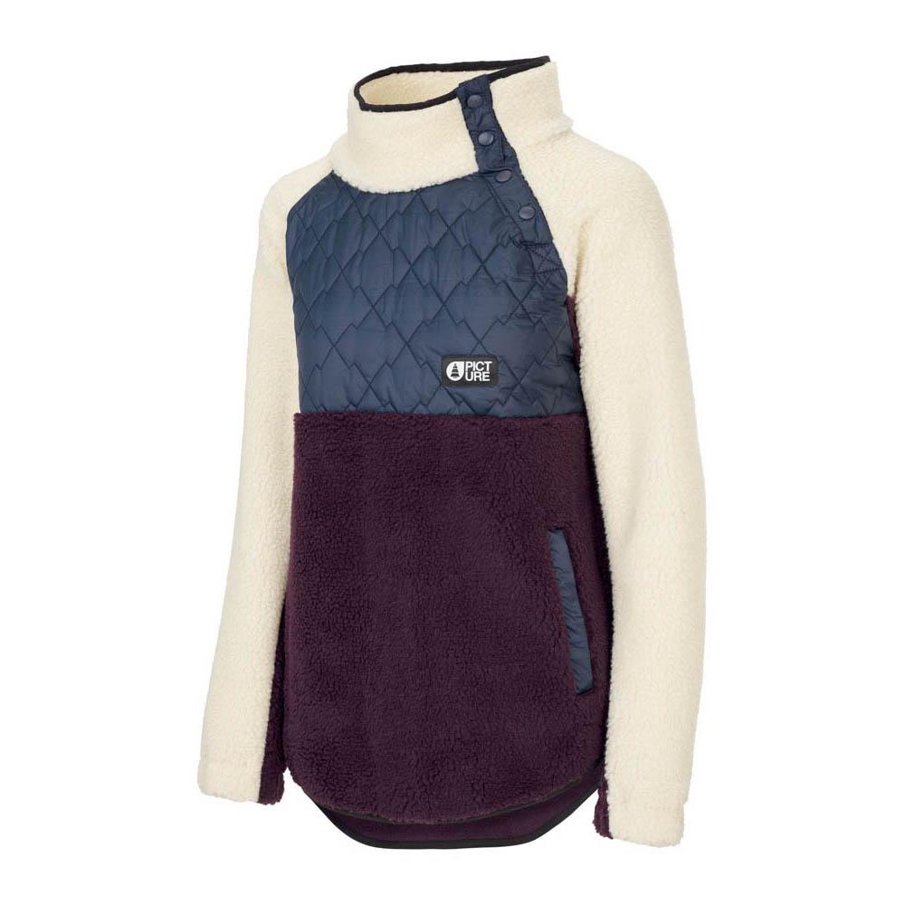 Picture Face Sweater Dark Blue Γυναικείο Φούτερ