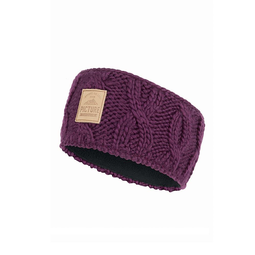Picture Haven Burgundy Γυναικείο Headband