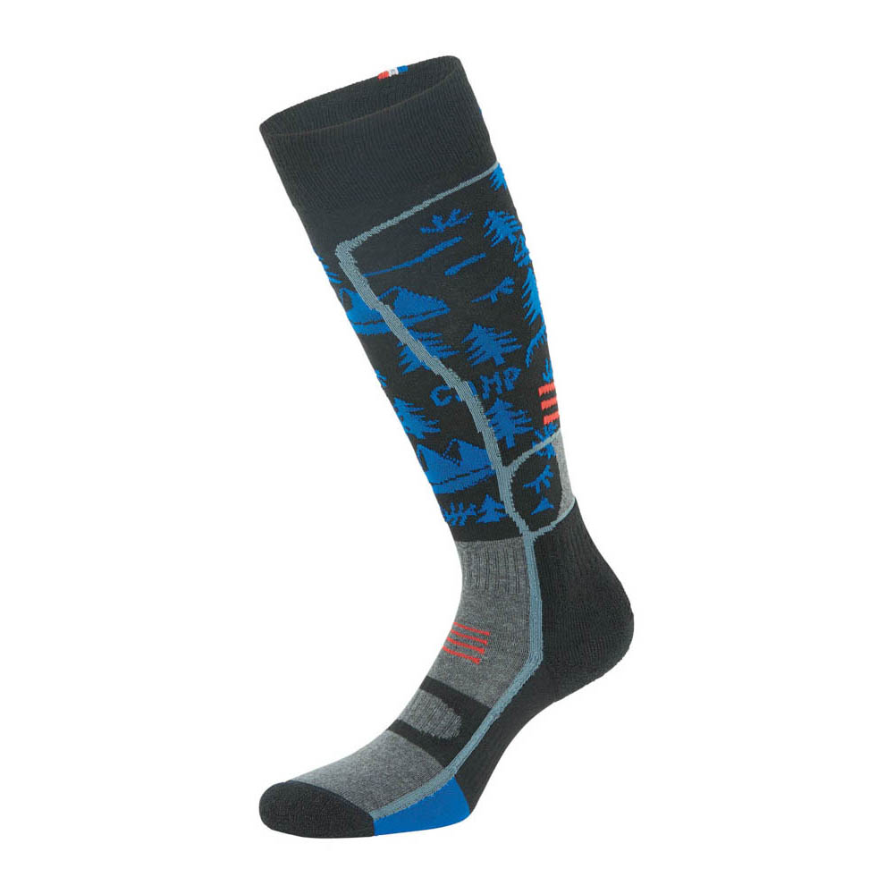 Picture Magical Blue Snow Socks