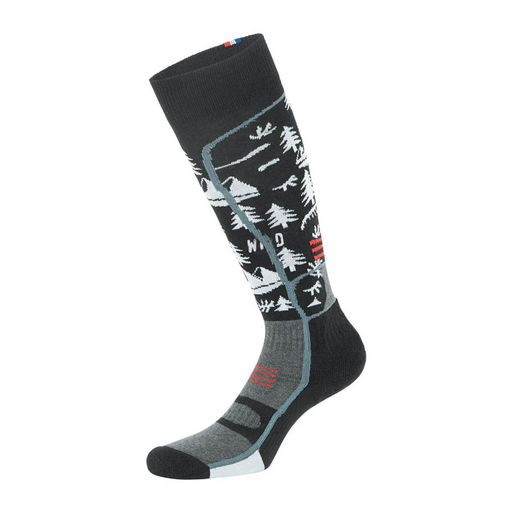 Picture Magical White Snow Socks