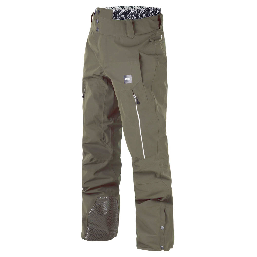 PICTURE OBJECT DARK ARMY GREEN SNOW PANT