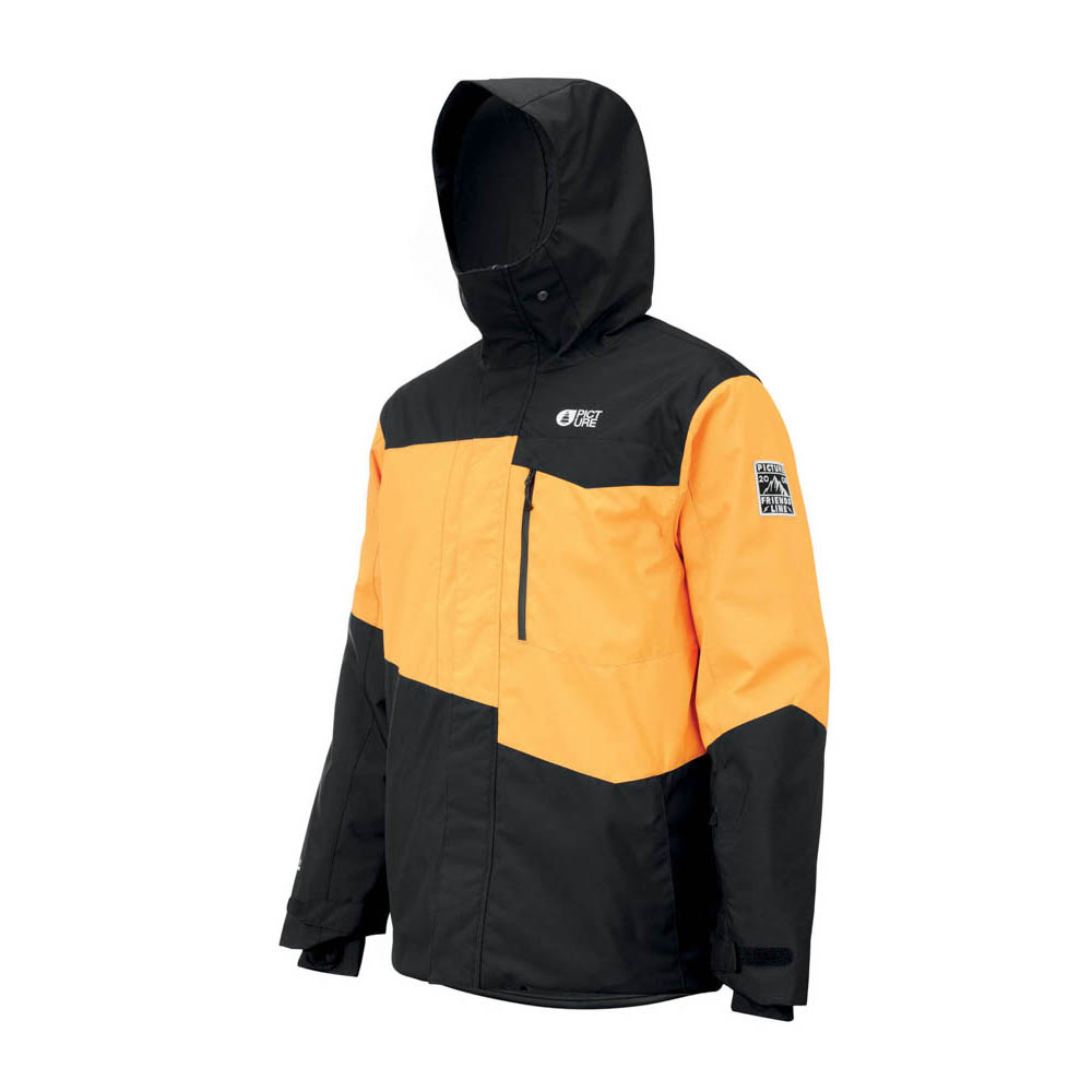 Picture Styler Yellow Black Men's Snow Jacket