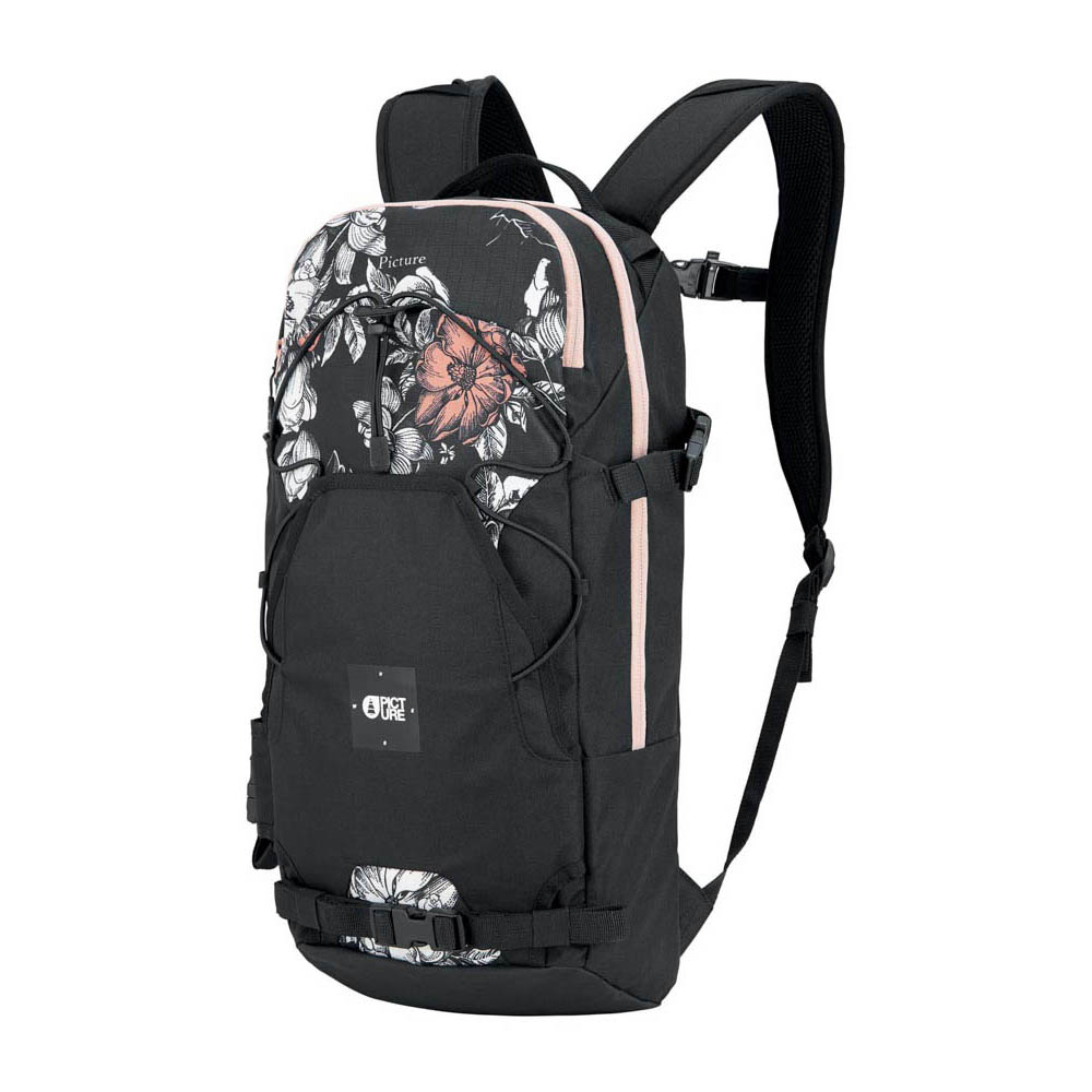 Picture Sunny Backpack 18l Peonies Black