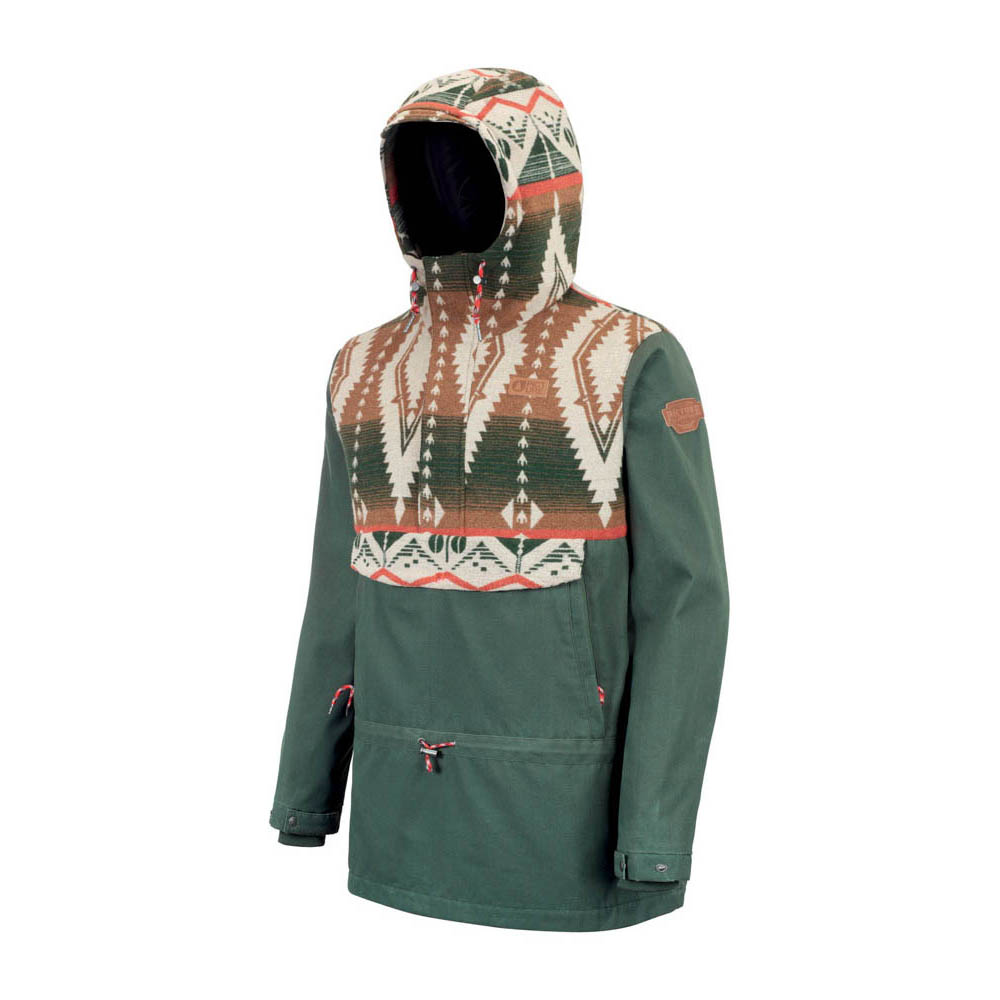 Picture X Opinel Patrol Forest Green Men's Jacket