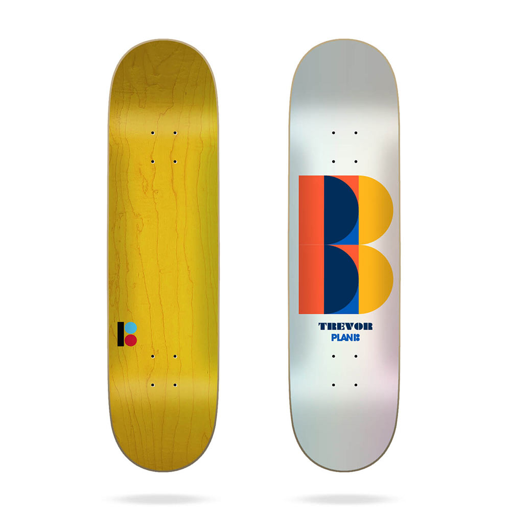 Plan B Trevor Deco 8.375 Skate Deck