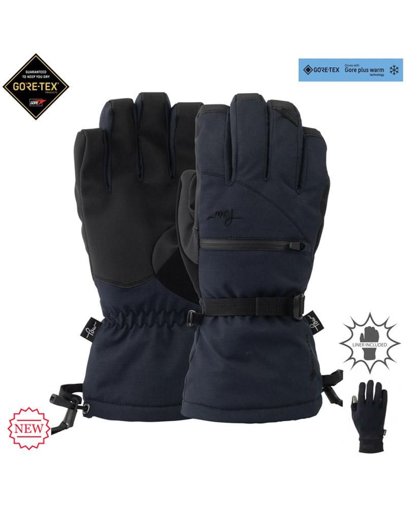 Pow W's Cascadia GTX Long Glove +WARM Black
