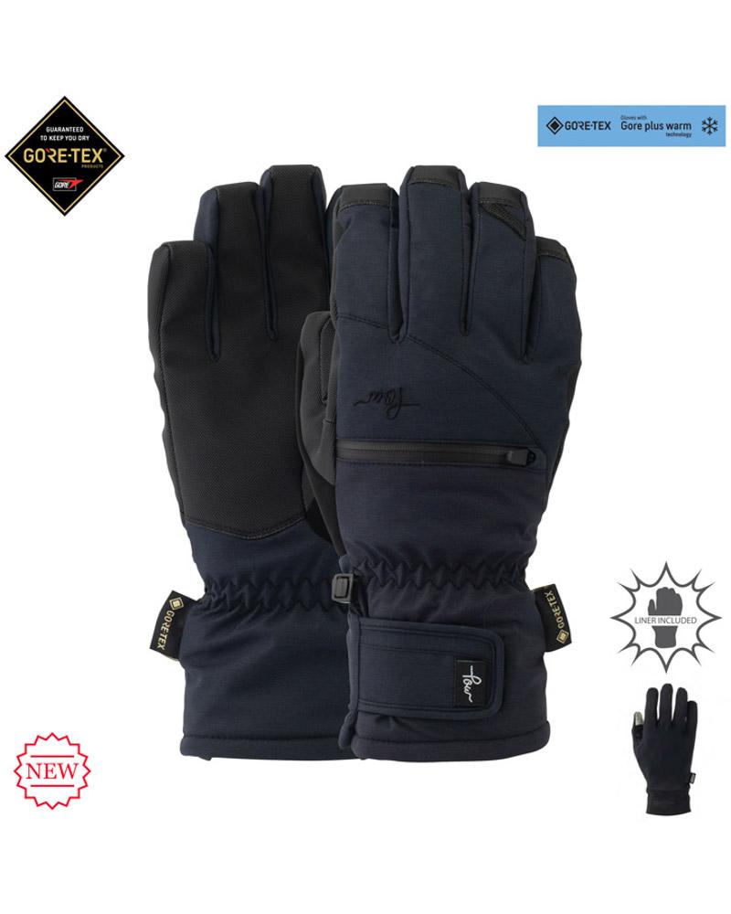 Pow W's Cascadia GTX Short Glove +WARM Black