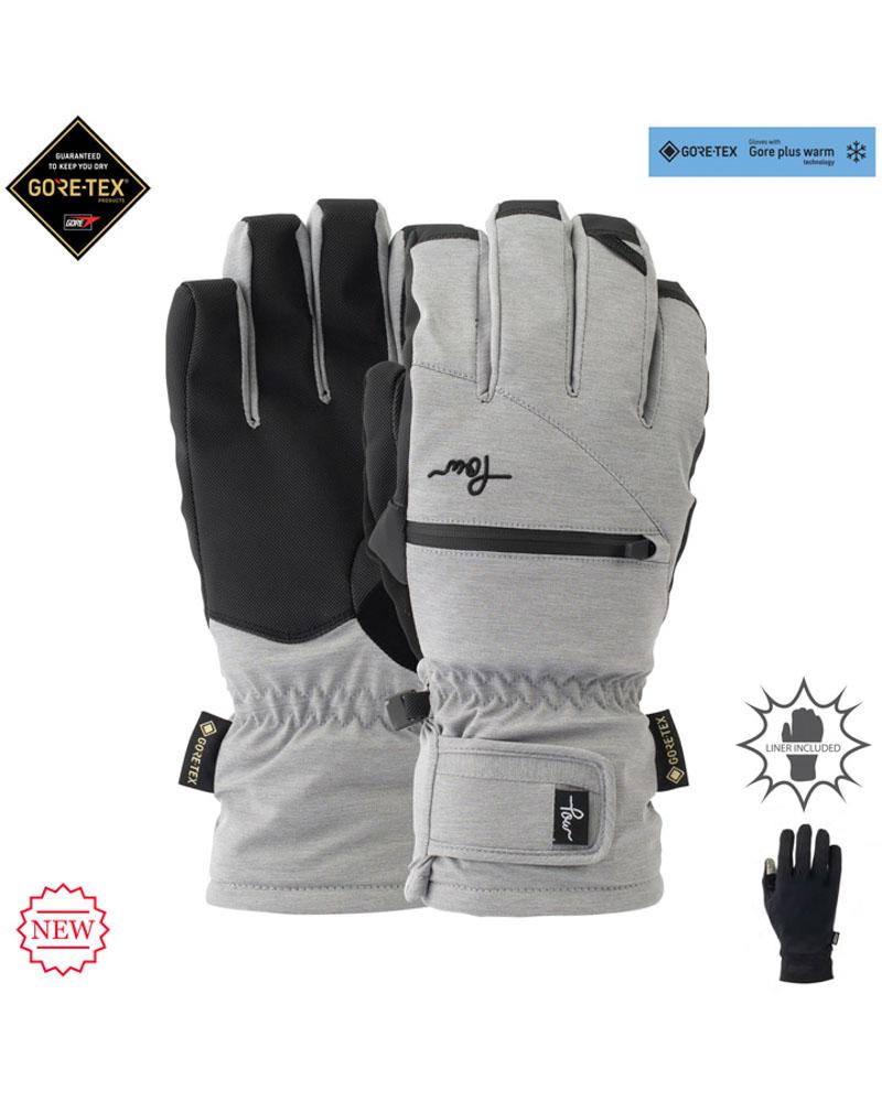 Pow W's Cascadia GTX Short Glove +WARM Monument