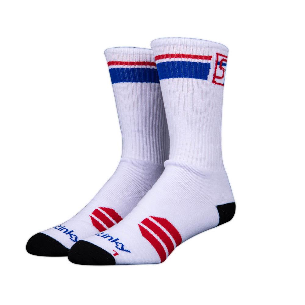Stinky Socks Starter White Red Blue Κάλτσες