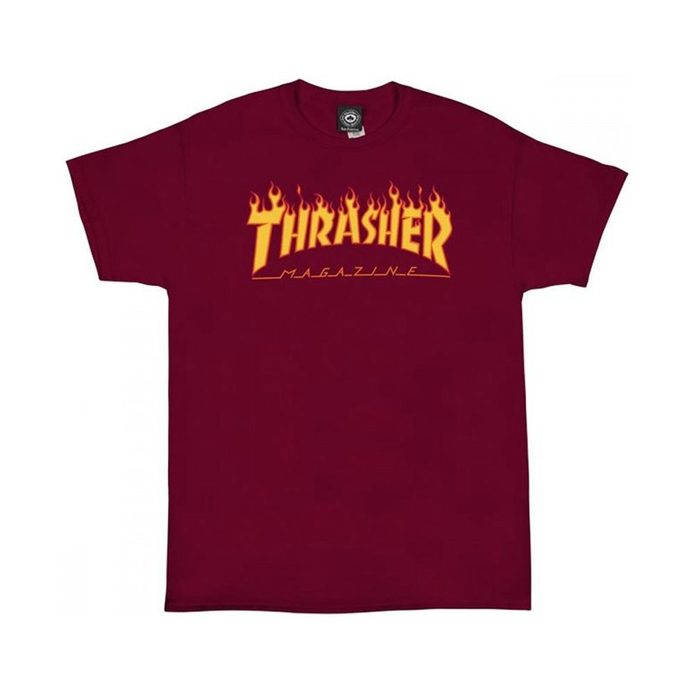 Thrasher Flame Cardinal Men's T-Shirt