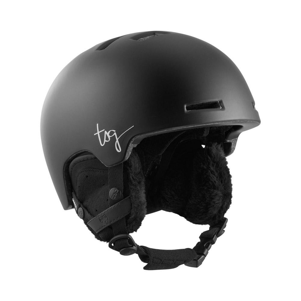 TSG Cosma Solid Color Satin Black Women's Helmet