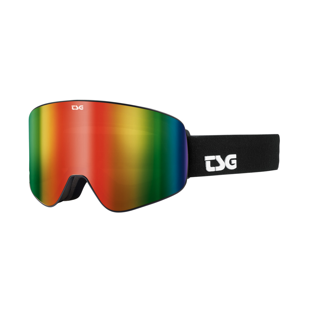 TSG Goggle Four S Solid Black Snow Μάσκα