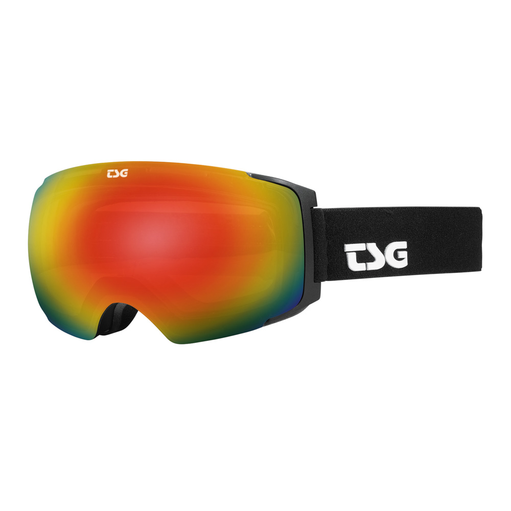 TSG Goggle Two Solid Black Snow Μάσκα